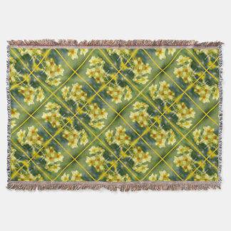 Pretty Daffodils, Narcissus 03.3.2 Throw Blanket