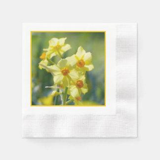 Pretty Daffodils, Narcissus 03.3.y Paper Napkins