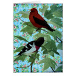Pretty Day Birds Cards