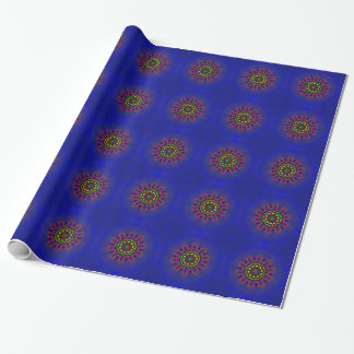 Pretty designs wrapping paper