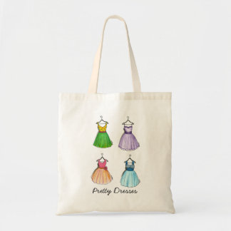 Pretty Dresses Tote Bag
