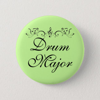 Pretty Drum Major Marching Band Gift 6 Cm Round Badge
