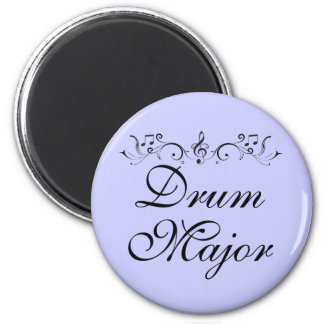 Pretty Drum Major Marching Band Gift 6 Cm Round Magnet