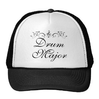 Pretty Drum Major Marching Band Gift Trucker Hat