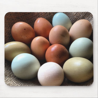 Pretty Eggs From Chicken Farm Mouse Pad