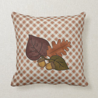 Pretty Fall Leaves Decorator Pillow