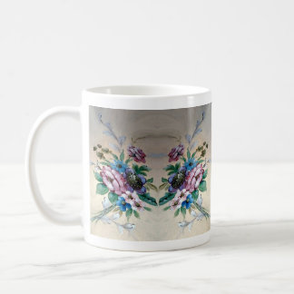 Pretty & Feminine Bouquet of Flowers Mug