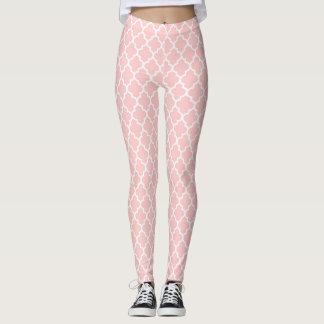 Pretty Feminine Peach Pattern Leggings