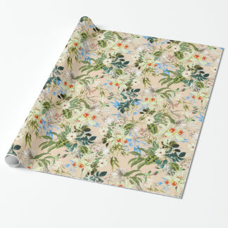 Pretty Floral Chic Gift Wrap