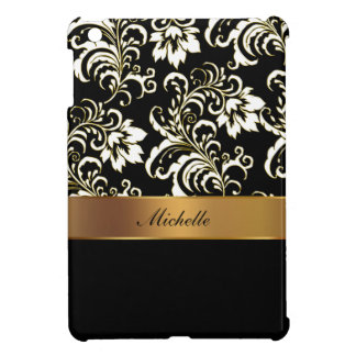 Pretty Floral Damask iPad Mini Case