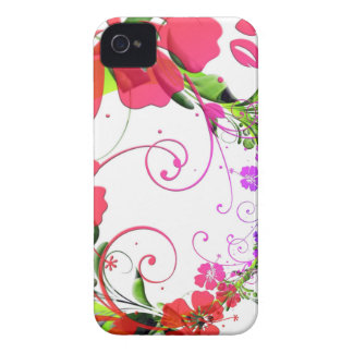 Pretty Floral Frills iPhone 4 Cover