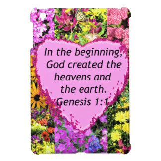 PRETTY FLORAL GENESIS 1:1 PHOTO DESIGN CASE FOR THE iPad MINI