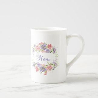 Pretty Floral Mom Mug
