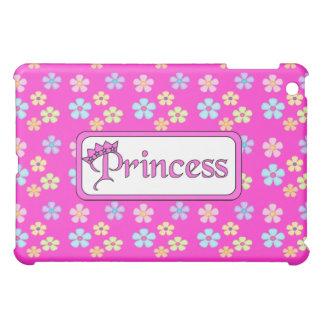 Pretty Floral Princess Bright Pink iPad Mini Cases