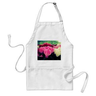 Pretty floral standard apron