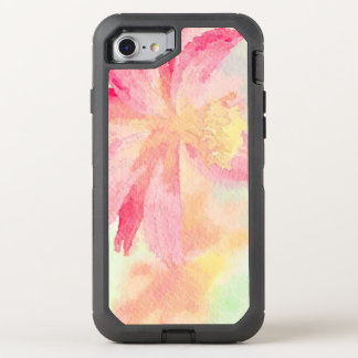 Pretty Floral Watercolor OtterBox Defender iPhone 8/7 Case
