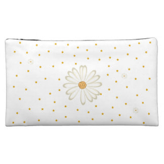 Pretty flower makeup bag