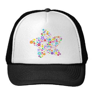 Pretty Flower Star Trucker Hat