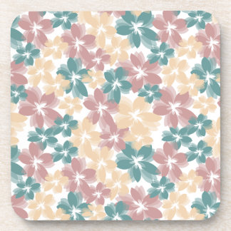 Pretty Flowers Drink Coasters