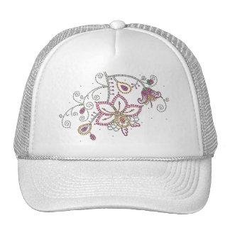 Pretty Flowers Hat