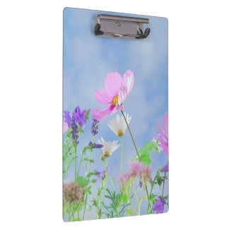 Pretty Flowers in delicate colours Clipboards