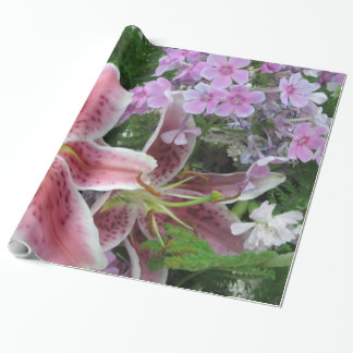 Pretty Flowers Wrapping Paper
