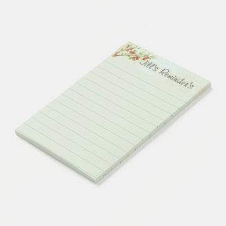 Pretty Fruit Tree Personalized Post-it Notes