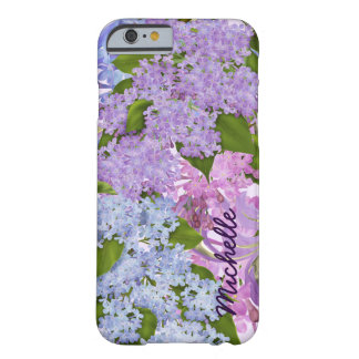 Pretty Garden Purple Lilac Flowers Barely There iPhone 6 Case