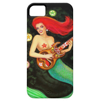 Pretty Girl Mermaid Tiki Music iPhone 5 Case