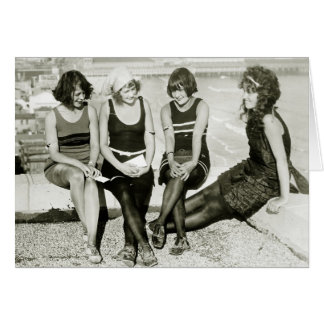 Pretty Girls, 1920s Greeting Card
