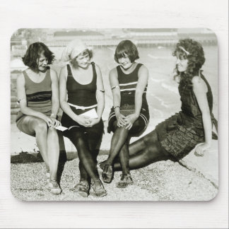 Pretty Girls, 1920s Mouse Pad