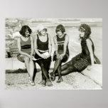 Pretty Girls, 1920s Print
