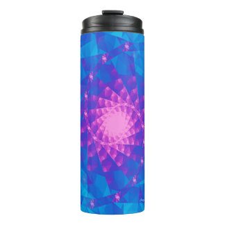 Pretty Girlz Fractal ©AH2016 Thermal Tumbler