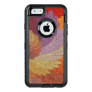 Pretty Glimmering Leaves OtterBox Defender iPhone Case