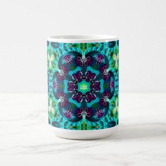 Pretty Glittery Pattern ~ Personalised Liz ~ Coffee Mug