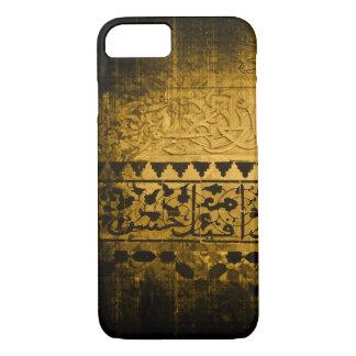 Pretty Gold Oriental Grunge Design Phone Case