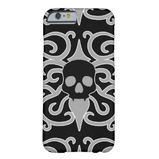 Pretty gothic skull barely there iPhone 6 case