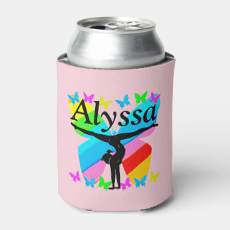 PRETTY GYMNAST BUTTERFLY CUSTOM CAN COOLER