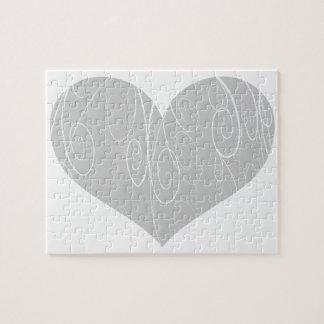Pretty Hearts Jigsaw Puzzle