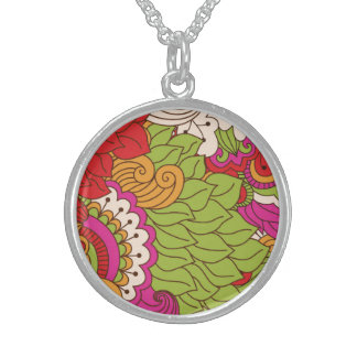 Pretty Honest Easygoing Trusting Round Pendant Necklace