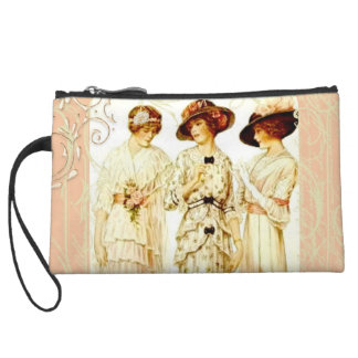 Pretty in Pink Wristlet Clutches