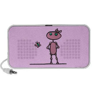 Pretty in Pink Doodle Speaker