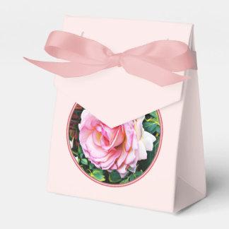 Pretty in pink feminine classic summer rose favour box