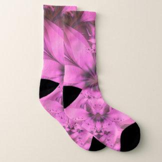 Pretty in Pink Fractal Flower Star-Shaped Petunias 1