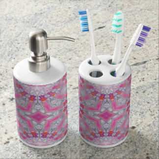 Pretty in pink (K349) Bathroom Set