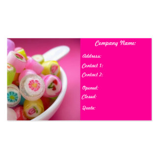 Pretty in Pink Pack Of Standard Business Cards