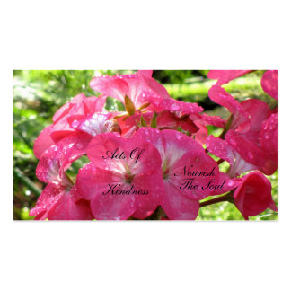 Pretty in Pink - Random Acts of Kindness Cards Pack Of Standard Business Cards