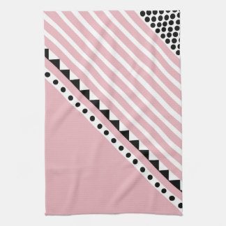 Pretty in pink tea towel
