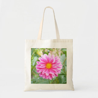 Pretty in Pink Wild Flower Tote Bag