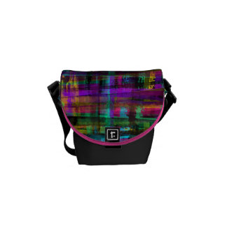 pretty in plaid commuter bag